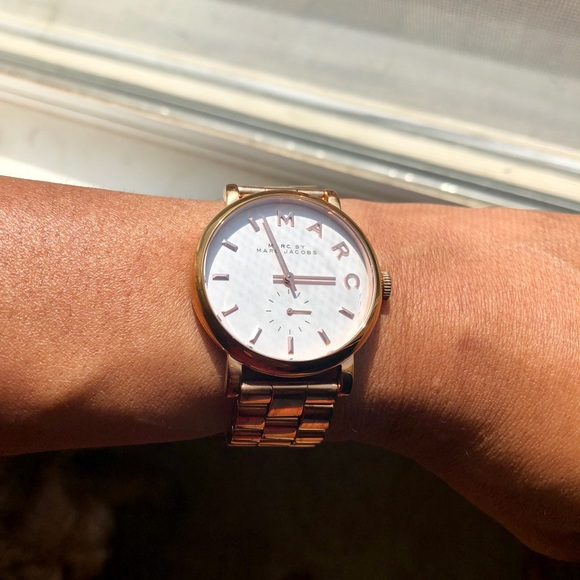 Marc By Marc Jacobs Accessories Marc Jacobs Baker Watch Rose Gold